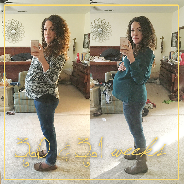 30 & 31 weeks of pregnancy